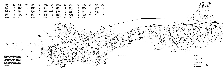 Sea Ranch Map North